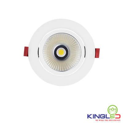 đèn led âm trần rọi kingled opal 7w