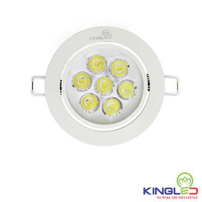đèn led âm trần spotlight kingled 3w