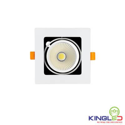 đèn led âm trần spotlight kingled đơn 10w