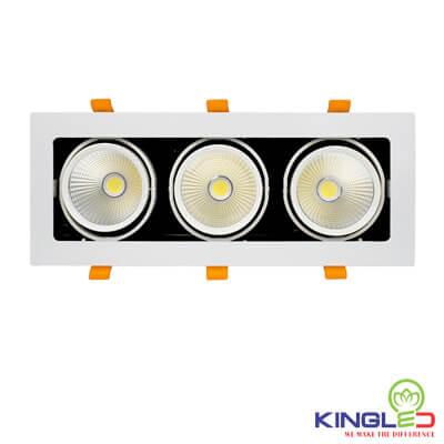 đèn led âm trần spotlight kingled hộp 30w