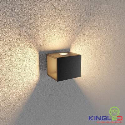 đèn led gắn tường kingled lwa0100a-bk