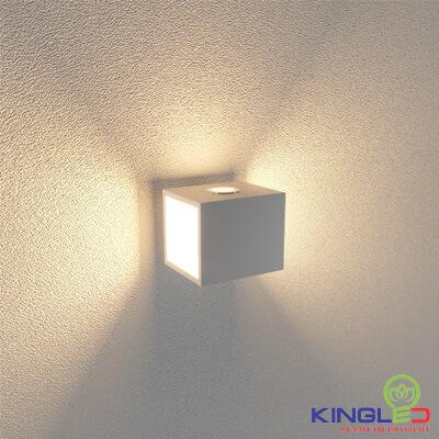 đèn led gắn tường kingled lwa0100a-wh