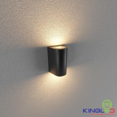 đèn led gắn tường kingled lwa0148b-bk