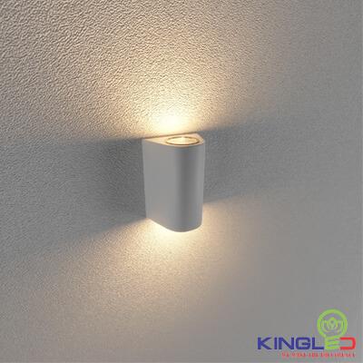 đèn led gắn tường kingled lwa0148b-wh
