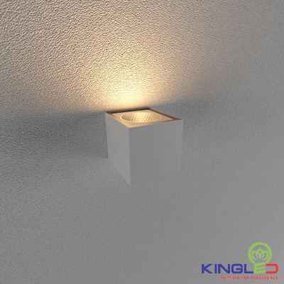 đèn led gắn tường kingled lwa0150a-wh