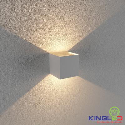 đèn led gắn tường kingled lwa5011-wh