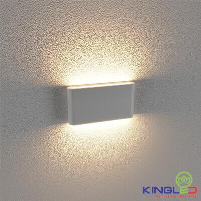 đèn led gắn tường kingled lwa8011-m-wh