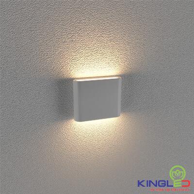 đèn led gắn tường kingled lwa8011-s-wh