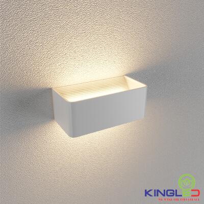 đèn led gắn tường kingled lwa9011-2-wh