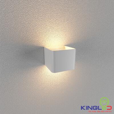 đèn led gắn tường kingled lwa901a-wh