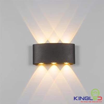 đèn led gắn tường kingled lwa8031-bk