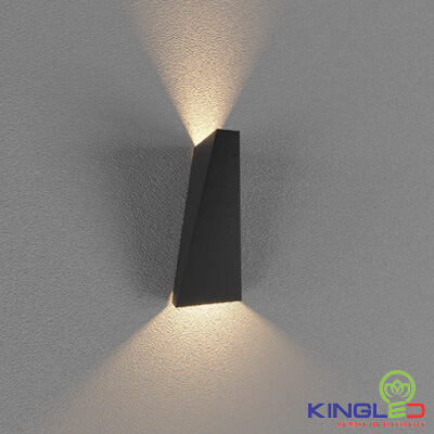 đèn led gắn tường kingled lwa919-bk
