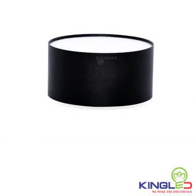 đèn led ống bơ kingled tán quang 7w vỏ đen