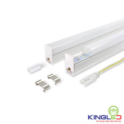 đèn led tuýp kingled t5 liền máng 0.6m 8w