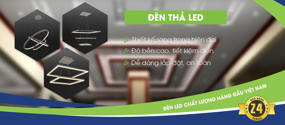 đèn thả led kingled