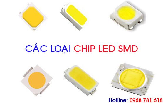 các loại chip led smd