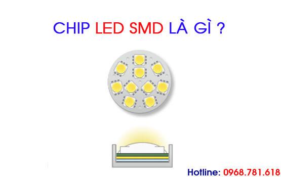chip led smd là gì