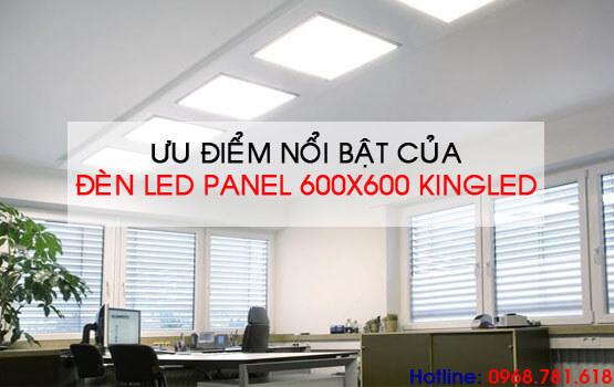 ưu điểm của đèn led panel 600x600