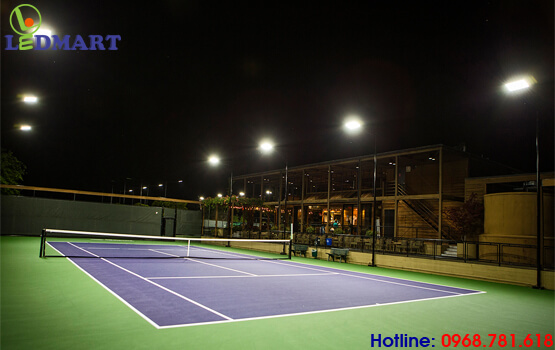 đèn led sân tennis