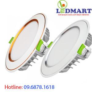 Đèn led âm trần 3 màu DIAMOND 10w Kingled DDL-10SS-T120-DM-CVCB