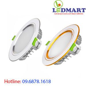 Đèn led âm trần 3 màu DIAMOND 10w Kingled DDL-10SS-T120-DM-PVPB